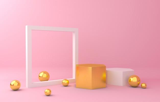 Fond d'écran or et blanc