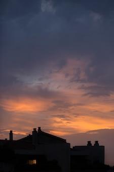 Fond d'écran paysage ciel nuageux