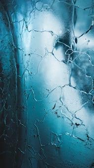 Fond d'écran de téléphone portable fond texturé glacier bleu