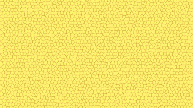 Fond d'écran de texture abstraite mosaïque simple jaune