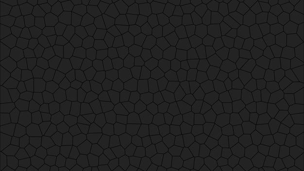 Fond d'écran de texture abstraite simple mosaïque noire