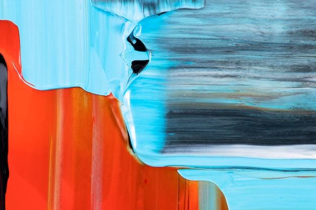 Fond d'écran texturé coloré, peinture acrylique abstraite