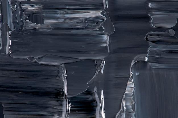 Fond d'écran texturé dans l'art abstrait de la peinture noire