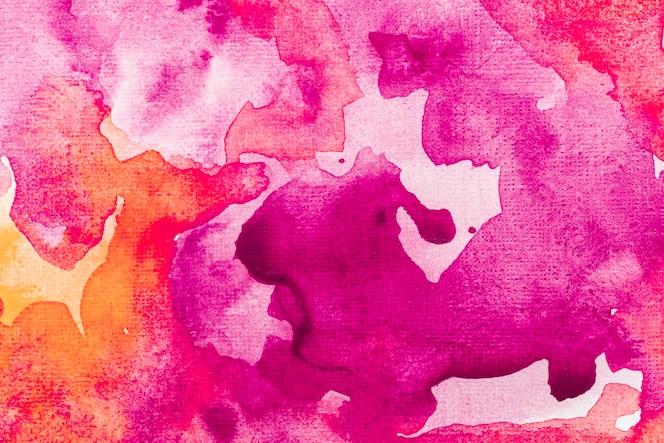 Fond d'effet de fumée aquarelle abstraite