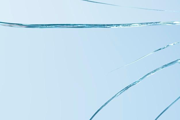 Fond d'effet de verre fissuré réaliste