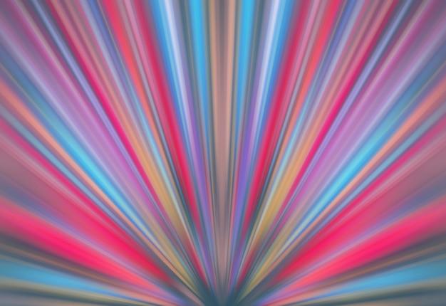 Fond d'effet de vitesse de mouvement de lumières abstraites