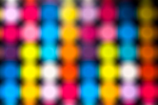 Fond d'effets graphiques flou coloré bokeh