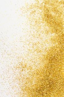 Fond élégant de paillettes dorées