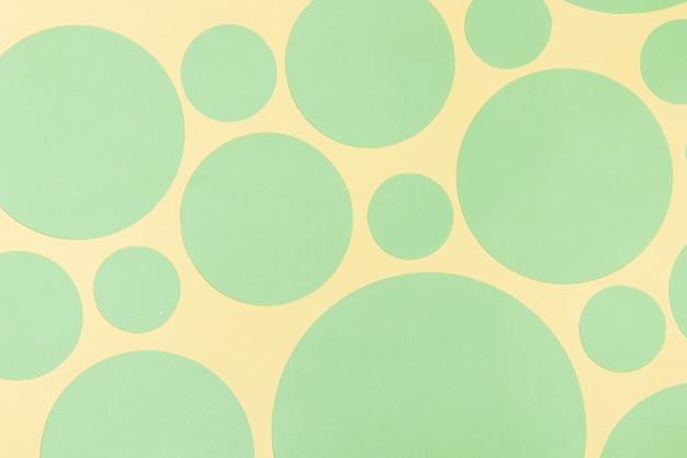 Fond avec des éléments de conception de cercle abstrait
