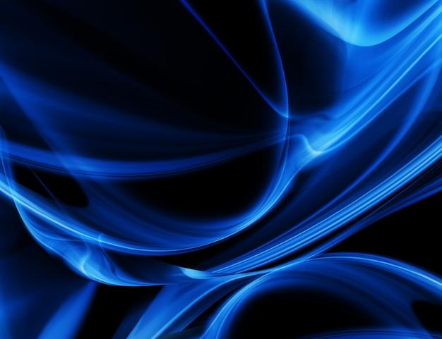Fond d'énergie abstrait élégant avec des lignes lisses abstraites