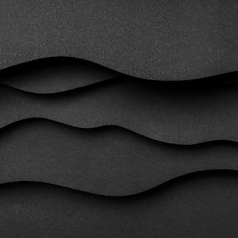 Fond de l'espace copie ondulée