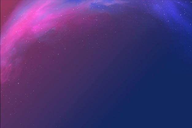 Fond d'espace nébuleuse abstrait coloré