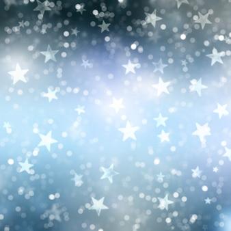 Fond étoile de noël
