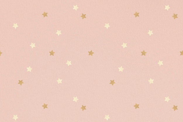 Fond d'étoiles dorées scintillantes