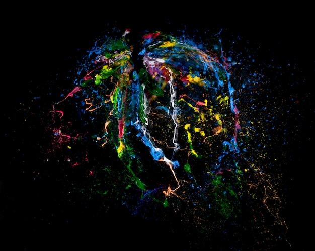 Fond d'explosion de couleur