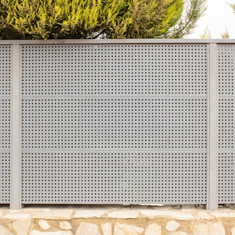 Fond de façade de clôture de jardin