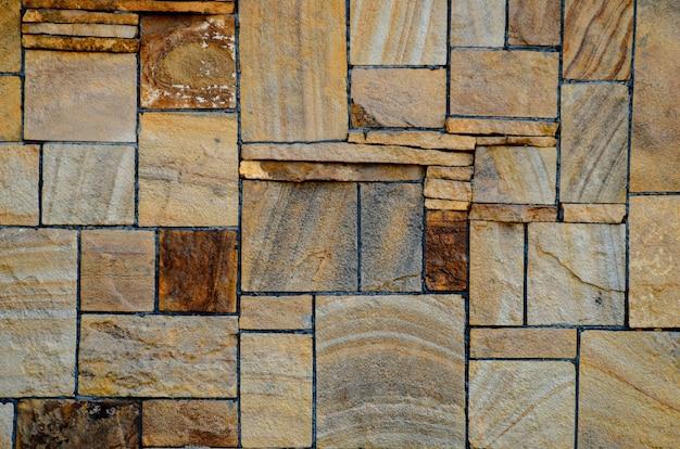 Fond fait de mur en pierre.