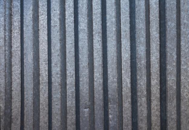 Fond de fer ondulé