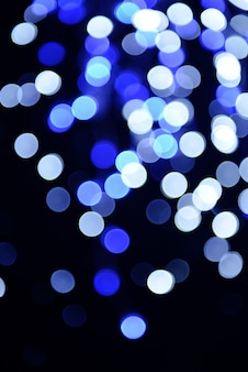 Fond festif de lumières