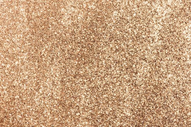 Fond festif de paillettes de cuivre brillant