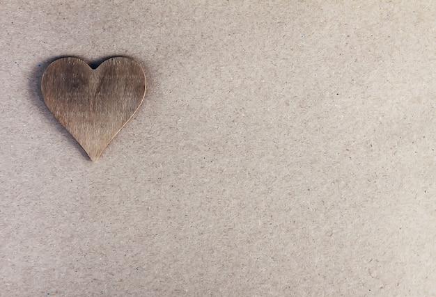 Fond festif saint valentin avec coeur décoratif