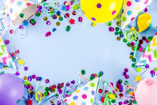 Fond de fête d'anniversaire
