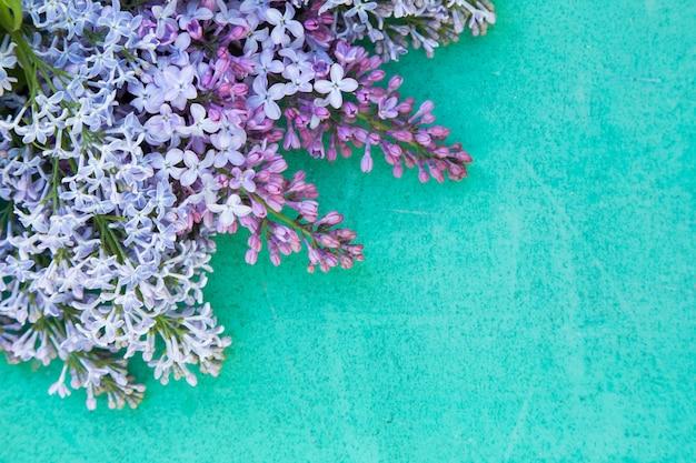 Fond de fête des mères violet et turquoise