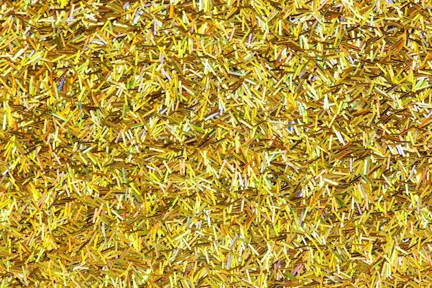 Fond de fête de paillettes d'or brillant