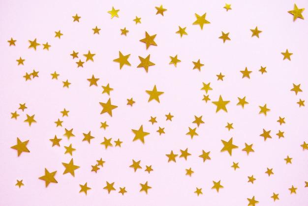 Fond de fête pastel rose