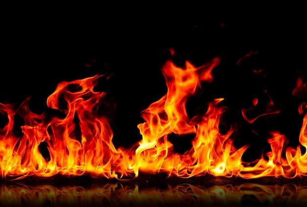 Fond de feu