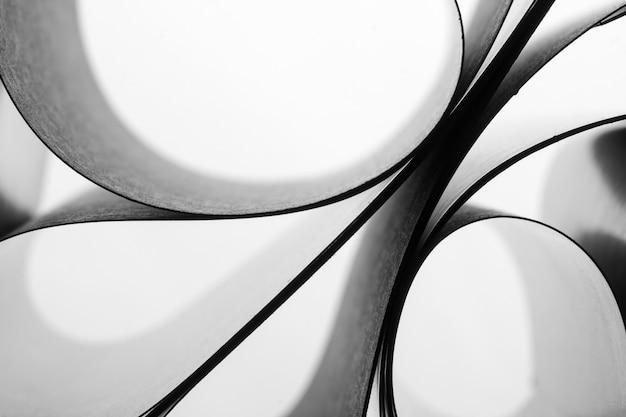 Fond de feuilles de papier