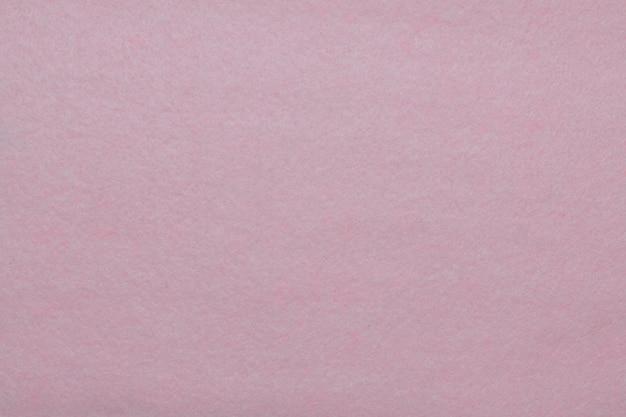 Fond de feutre rose, texture de tissu