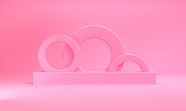 Fond de figures géométriques abstraites minimalistes