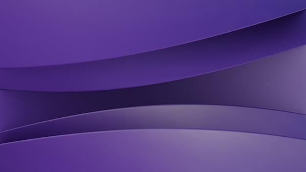 Fond de formes 3d avec dégradé de maille violet