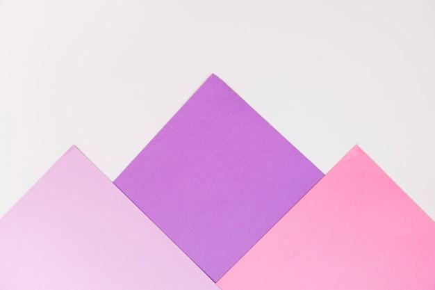 Fond avec des formes carrées