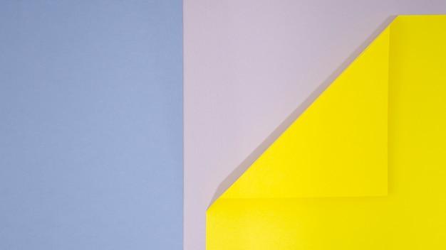 Fond de formes géométriques plat poser