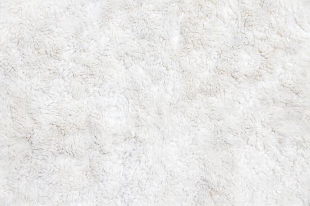 Fond de fourrure blanche vue rapprochée