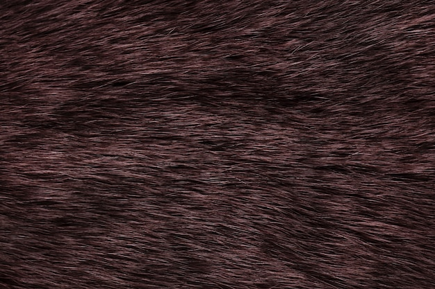 Fond fourrure naturelle de couleur marron