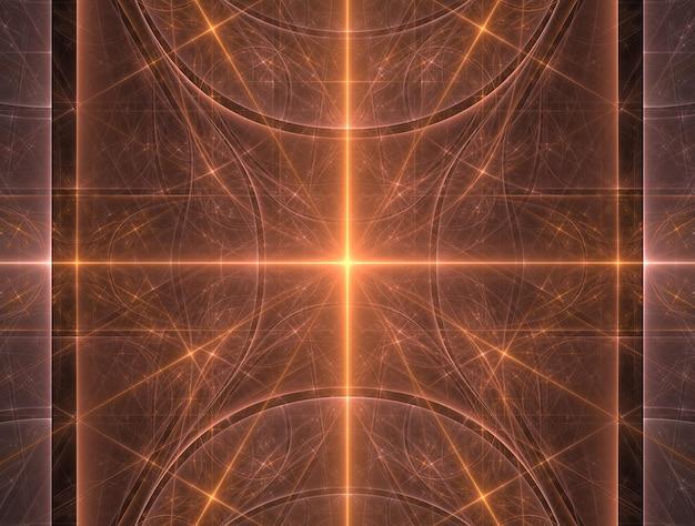 Fond fractal imaginaire