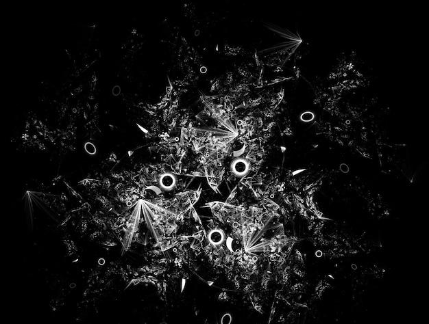 Fond fractal imaginatif