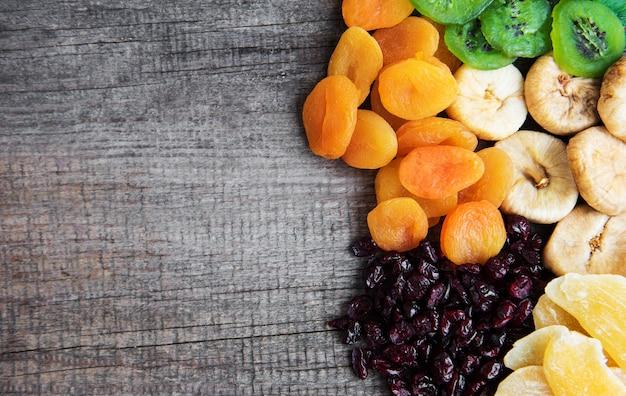 Fond de fruits secs mélangés