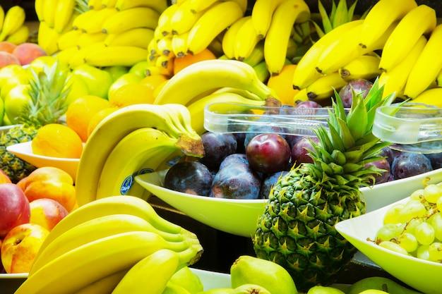 Fond de fruits