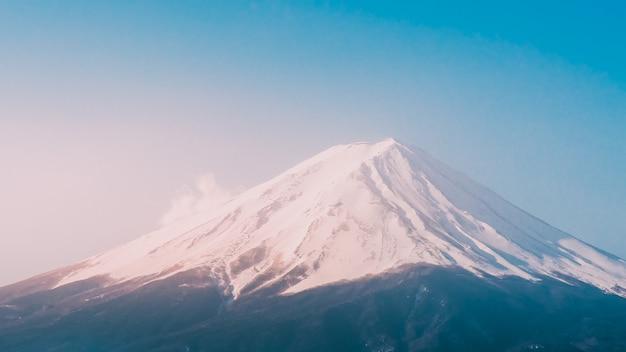 Fond de fuji de montagne
