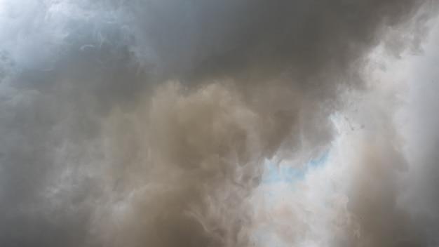 Fond de fumée blanche, brouillard ou fond de fumée, abstrait de smog