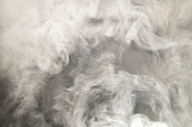 Fond de fumée blanche, papier peint texturé en haute résolution