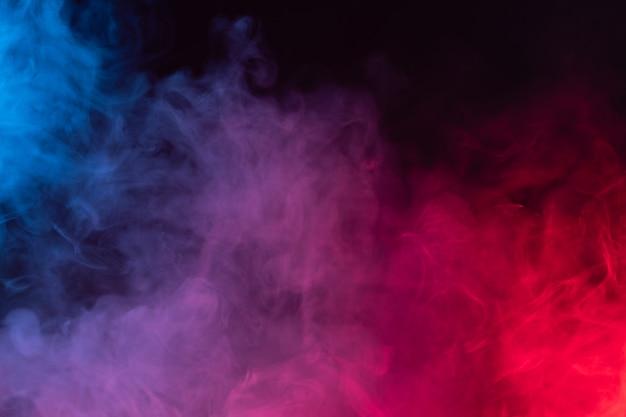 Fond de fumée de couleur
