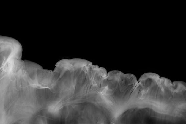 Fond de fumée sombre, papier peint texturé en haute résolution