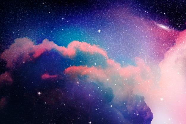 Fond de galaxie spatiale