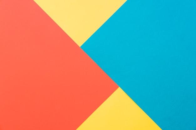 Fond géométrique coloré