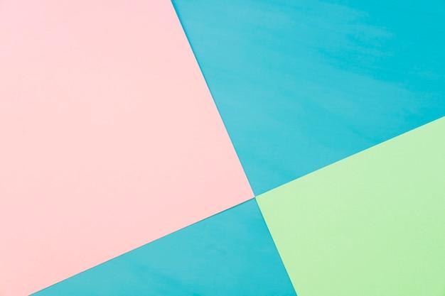 Fond géométrique avec formes carrées